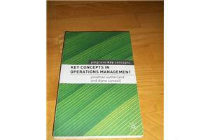Slika: Key Concepts in Operations Managemen