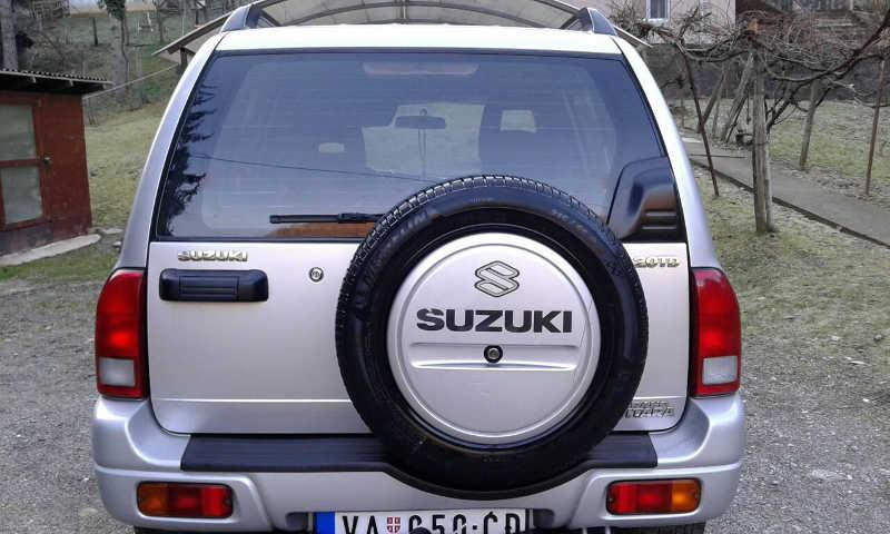 Slika: SUZUKI Grand Vitara 2003. god