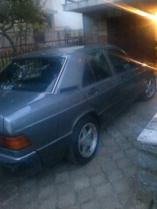 Slika: Novi Sad Mercedes Benz 190D 1991