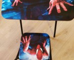 Slika: SPIDERMAN Set sto i stolica